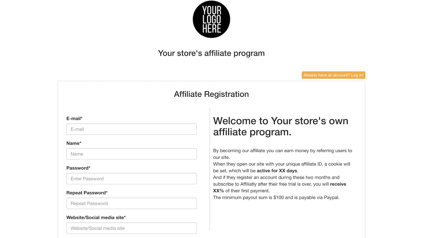 Affiliatly: Affiliate Marketing Software