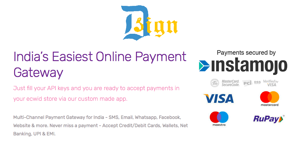 Instamojo: India's easiest payment gateway