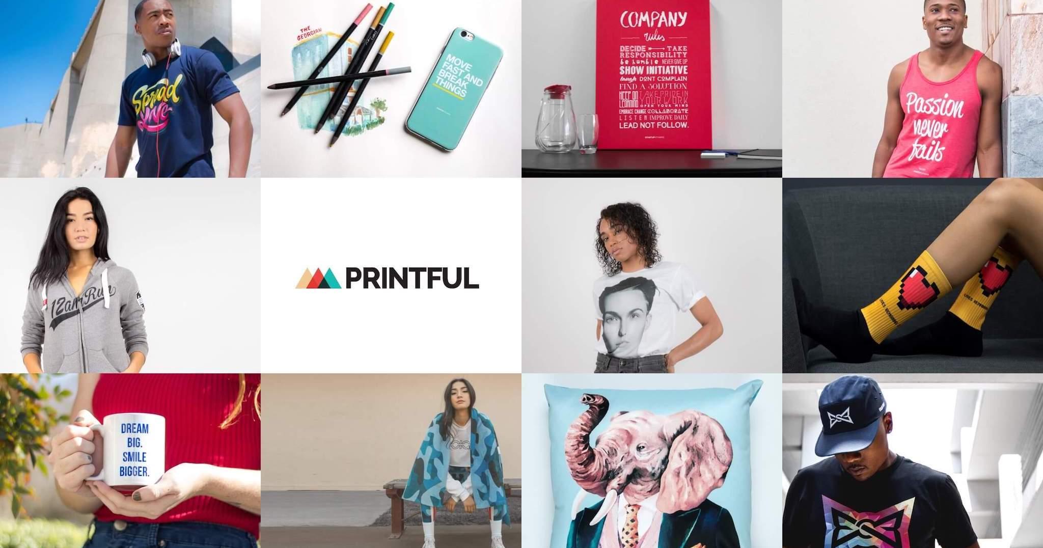 Printful: Custom Printing & Warehousing